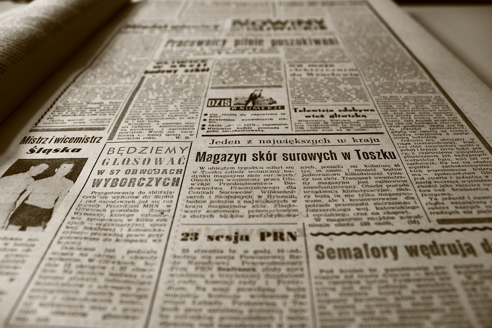 old newspaper - The 3 Best Tips to Find a Job in Science